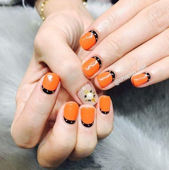 Оранжевый лак для ногтей: 5 лучших