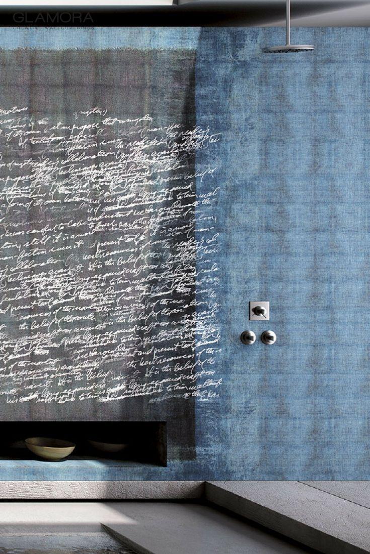 Kurabo | Natural Wallcovering & Carta da Parati | Denim Collection by Glamora