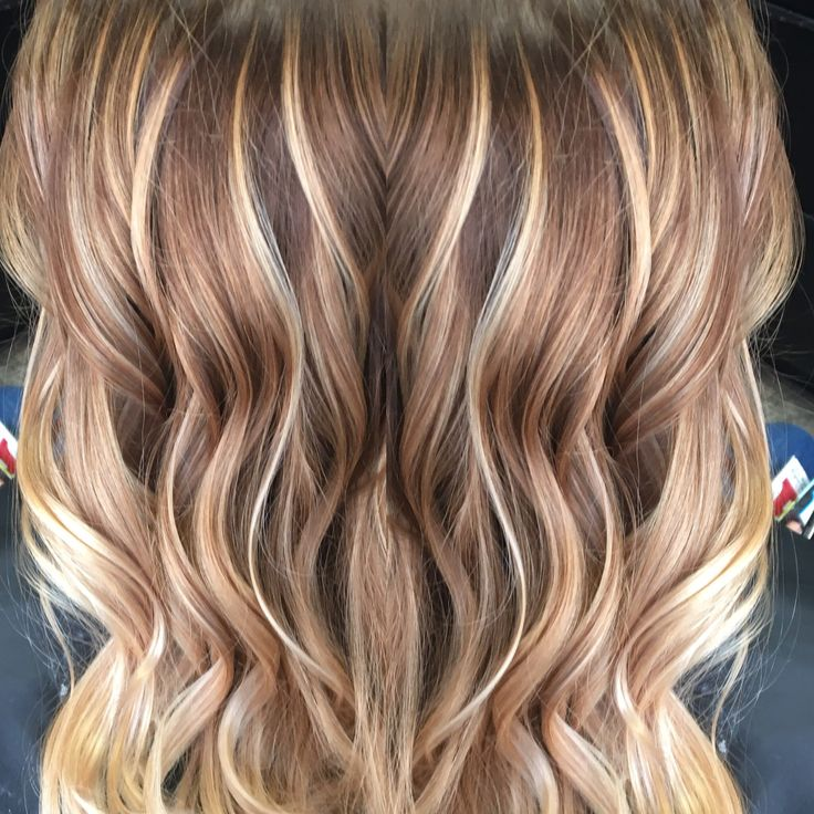 Caramel And Blonde Balayage Hairs Brown Hair Balayage