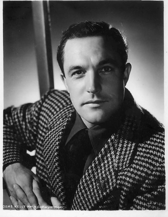 Gene Kelley. He was just too damn good looking and talented to be straight!
