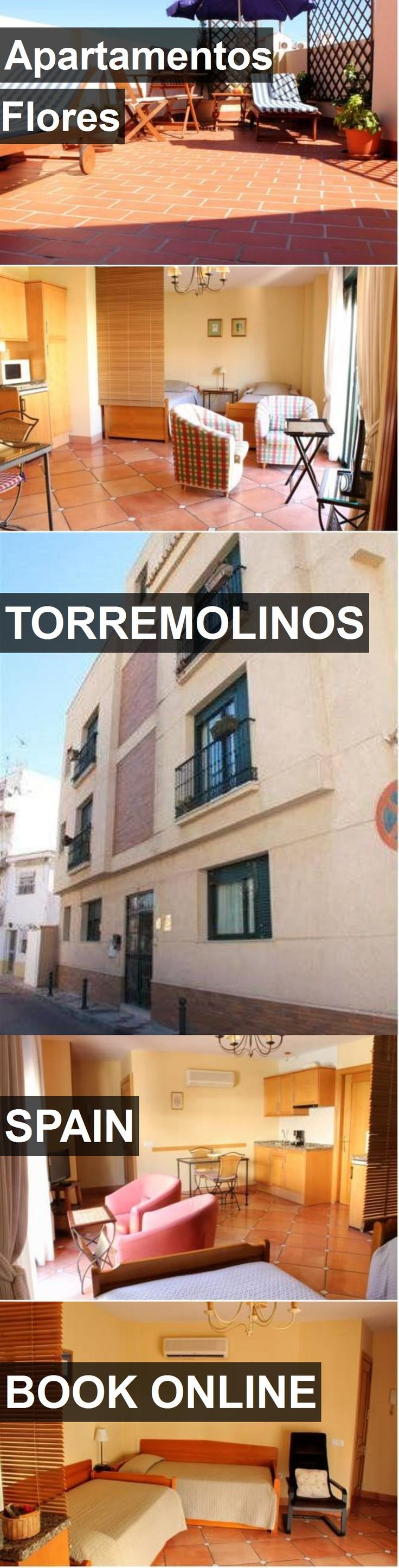 Hotel Apartamentos Flores in Torremolinos, Spain. For more information, photos, reviews and best prices please follow the link. #Spain #Torremolinos #travel #vacation #hotel