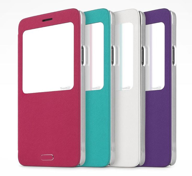 SKINPLAYER TRENTHER VIEW FLIP CASE FOR GALAXY A5
