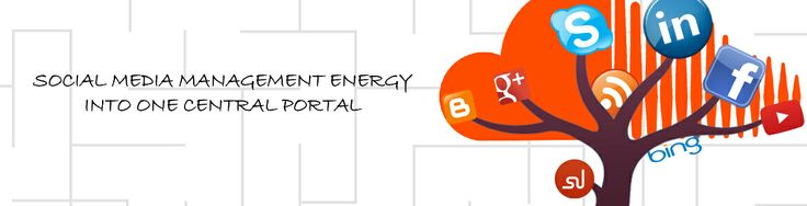 social media management energy into central portal