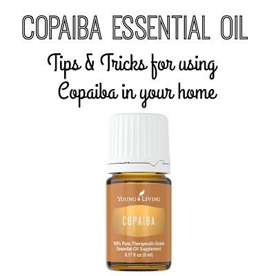 Day 6: Using Copaiba Essential Oil