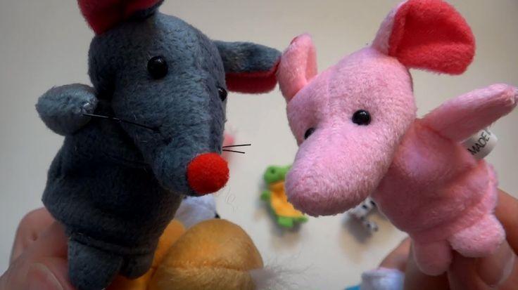 Пальчиковые игрушки, посылка из Китая