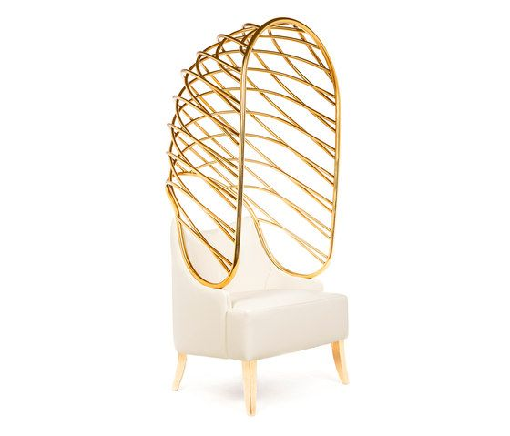 Limited Edition Becomes Me Armchair Was Revealed By MUNNA At Clerkenwell  Design Week As Part Of Dress Me Furniture Collection.