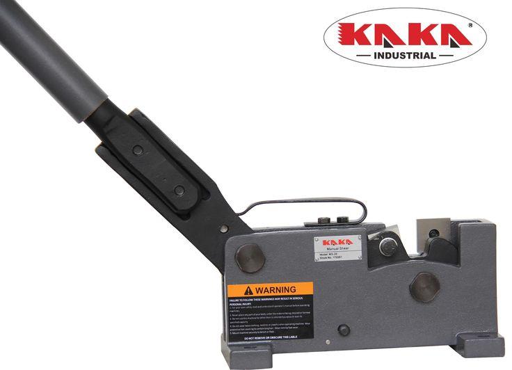 MS-20 Sheet Metal Hand Shear, Rebar, Rod & Round Steel, Flat Bar Cutter