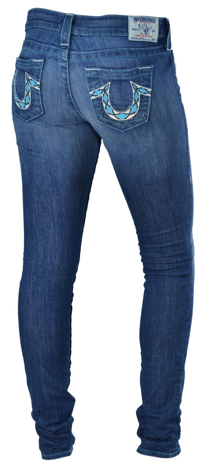 Womens Low Rise Jeans