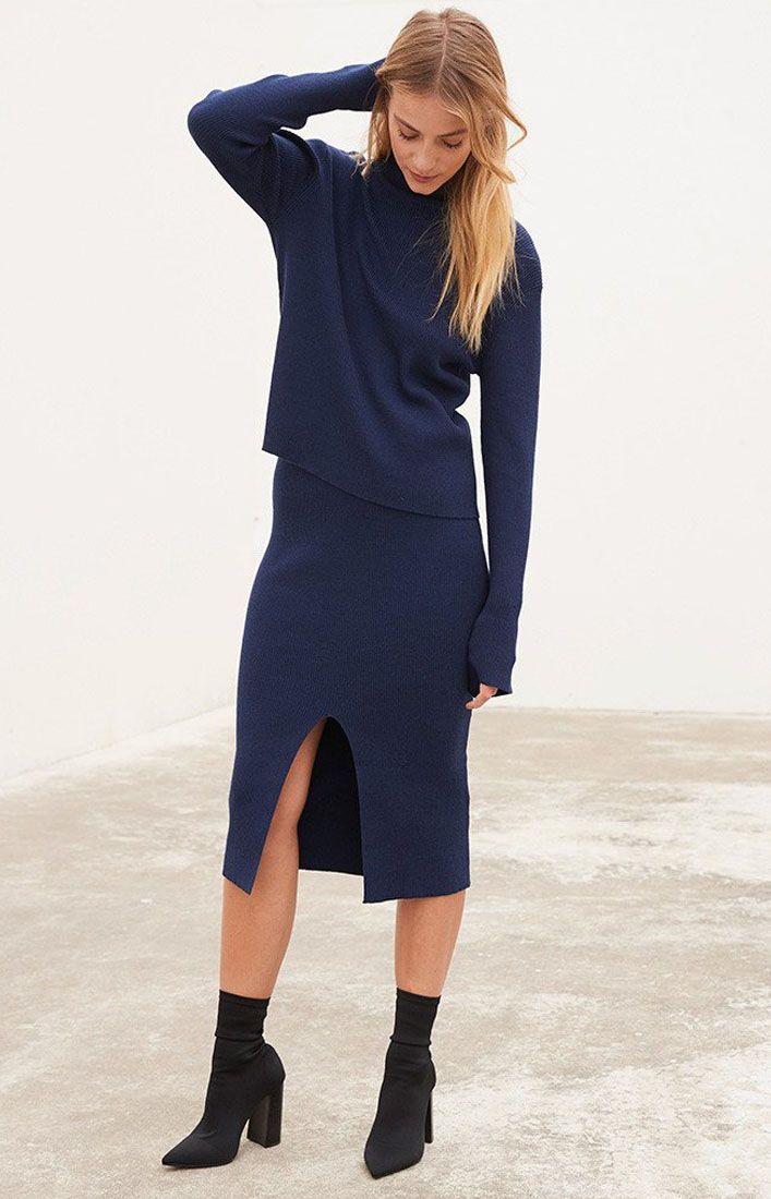 STAPLE THE LABEL - Felicity Knit Skirt