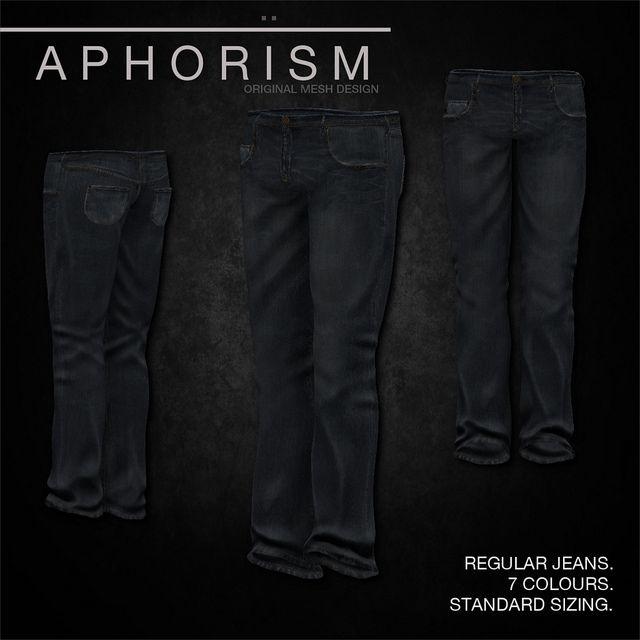 !APHORISM! Regular Jeans Dark Blue | Flickr - Photo Sharing!