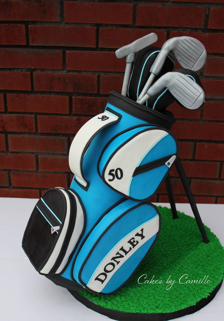 Golf Bag Cake Images : 28 best images about Groom s Cakes on Pinterest John ...