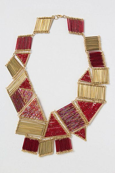 Polygon Necklace from Anthropologie
