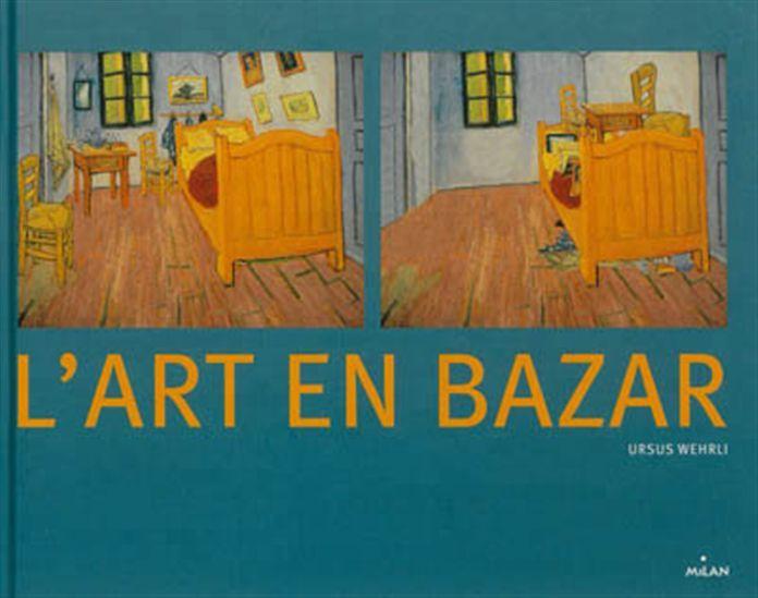 Présente vingt oeuvres d'artistes (P. Klee, W. Kandinsky, K. Malevitch, R. Magritte, J. Miro, K. Haring, etc) et confronte chacune d'entre elles avec une version de la peinture déconstruite et réorganisée selon une contrainte particulière (éléments classés par taille, par couleur, par forme). Incite à réfléchir sur le sens d'une oeuvre. Prix Sorcières 2004 catégorie documentaires.