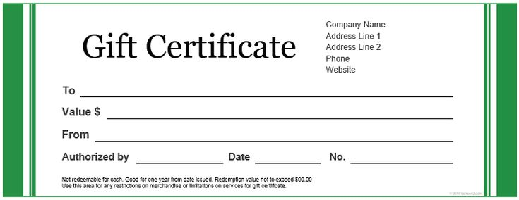 Gift certificate blank template blank gift certificate template create a gift certificate with these free microsoft word templates vertex42s free gift certificate templates yadclub Choice Image
