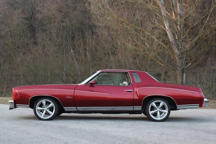 Chevrolet Monte Carlo 1976--one of my brother's car, it was a beauty, only his was blue