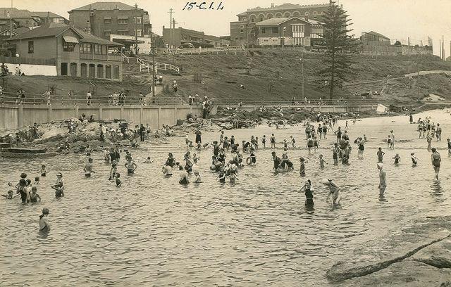 Clovelly Beach, Sydney, NSW. C late 1930's/Early 1940's