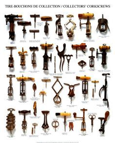 "Collectors' Corkscrews #corkscrews www.LiquorList.com ""The Marketplace for Adults with Taste!"" @LiquorListcom #LiquorList"