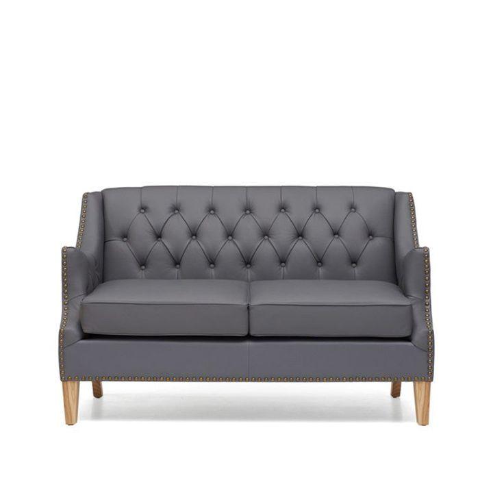 Restoration Hardware Aventura: 17 Best Ideas About Grey Leather Sofa On Pinterest