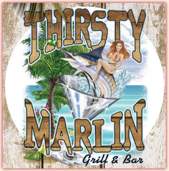 Thirsty Marlin Grill & Bar - Palm Harbor, FL (grouper cheeks and sushi!)