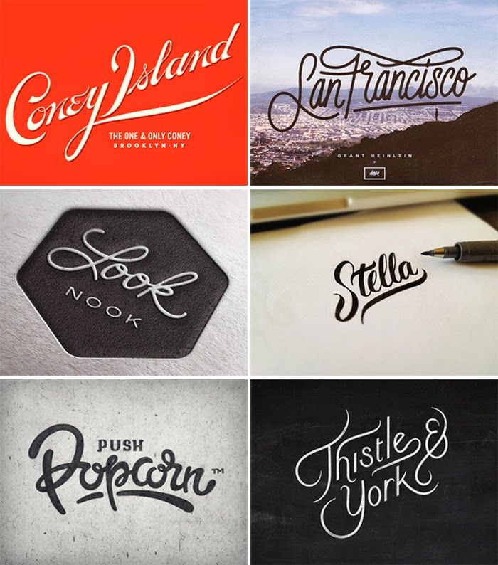 MARGIN: Dribbble Favourites // Hand Lettering