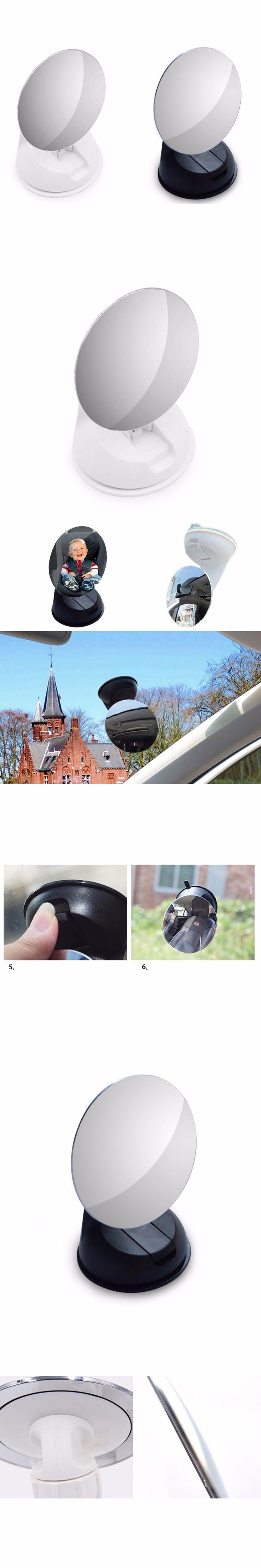 2017 New Adjustable Wide View Rear / Baby / Child Seat Car Safety Mirror Headrest Mount Interior Rearview Mirror