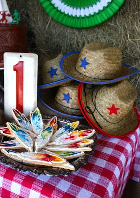 Cowboy and Indians Birthday Party taitheknot.blogspot.com