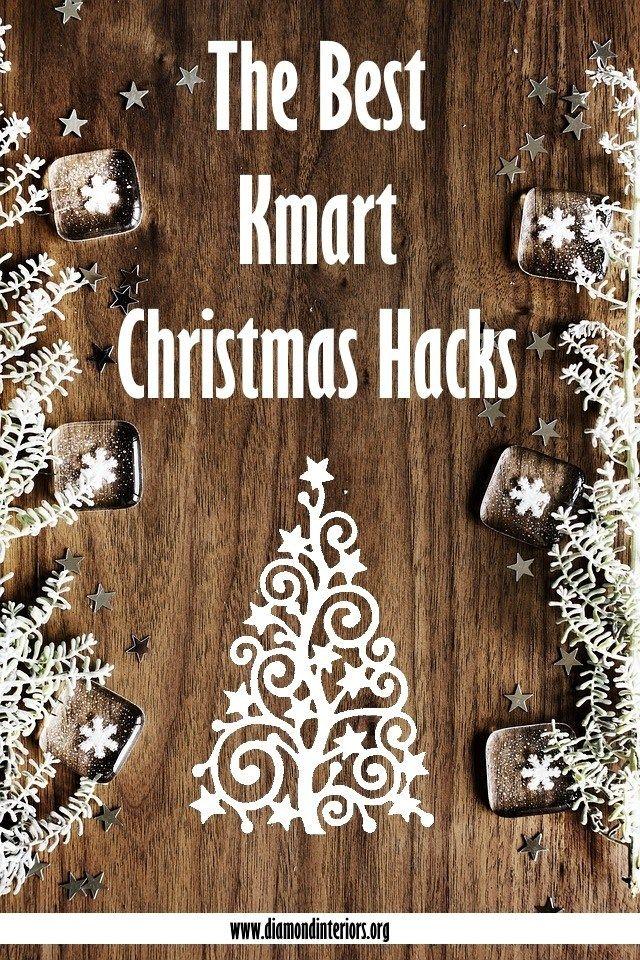 The Best Kmart Christmas Hacks Christmas Hacks Kmart Hacks Gift Hacks