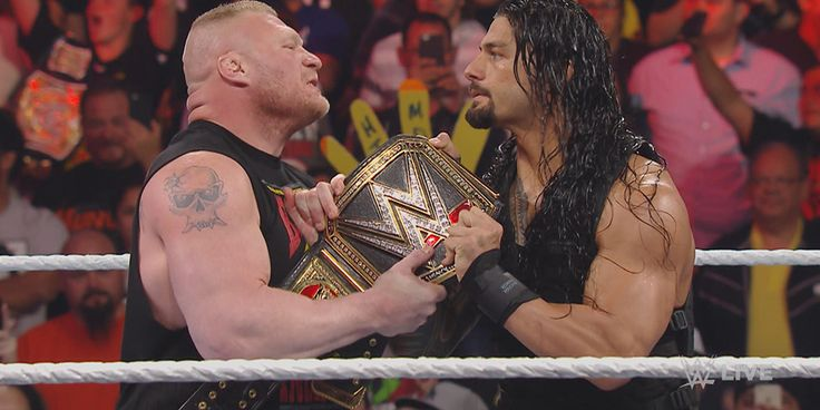 Roman already retired The Undertaker at Wrestlemania 33 so you know the company trusts him enough to put him over Brock when he decides to leave.
