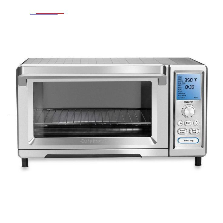 Cuisinart 1800 W 9 Slice Stainless Steel Toaster Oven With Temperature Control Tob 260n1 The Home Depot Stainless Steel Silver Toaster Oven Br Cu I 2020 Home Depot