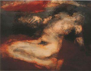 Hughie O' Donoghue painting.