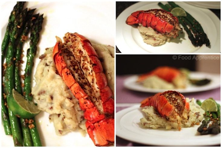 Broiled Lobster Tails.  Easy to make.  http://foodapprentice.com/broiled-lobster-tail/