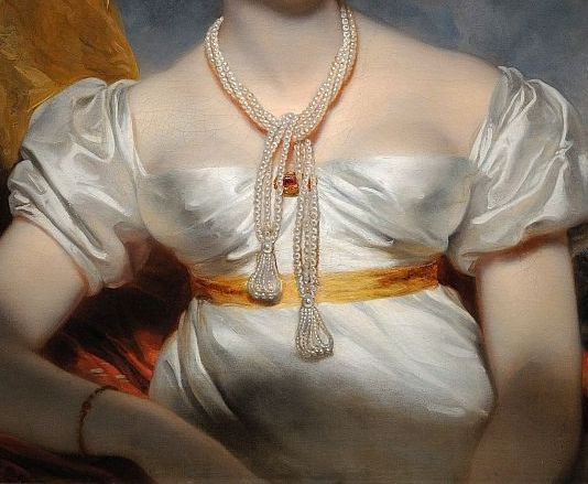 Portrait of a Woman, by Sir Thomas Lawrence #Art #Detail: