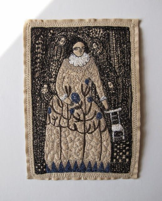cathy cullis: EMBROIDERY: