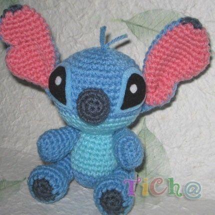 Amigurumi Stitch Free Pattern : Stitch super cute - PDF amigurumi crochet pattern