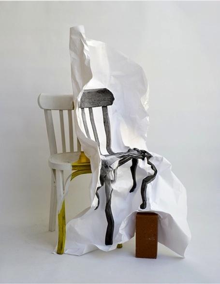 Chaise i philippe soussan convozine art kunst - Chaise art contemporain ...