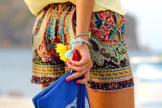Like a Princess by Kuka: scarf print