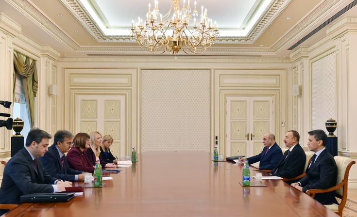 President Ilham Aliyev received a delegation led by the Speaker of the Serbian National Assembly