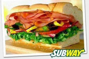 Subway: $3.50 Sub of the Day special