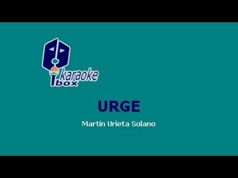 Karaoke Box - Urge (Al Estilo De Vicente Fernández) - (Karaoke) - YouTube