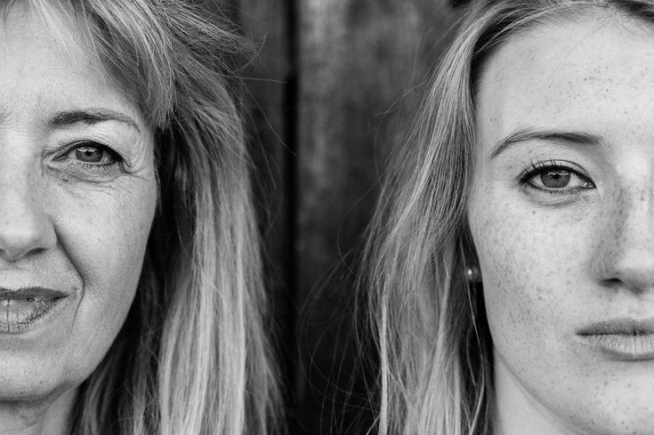 Mother and daughter Foto-Shooting zu zweit mit Mutter