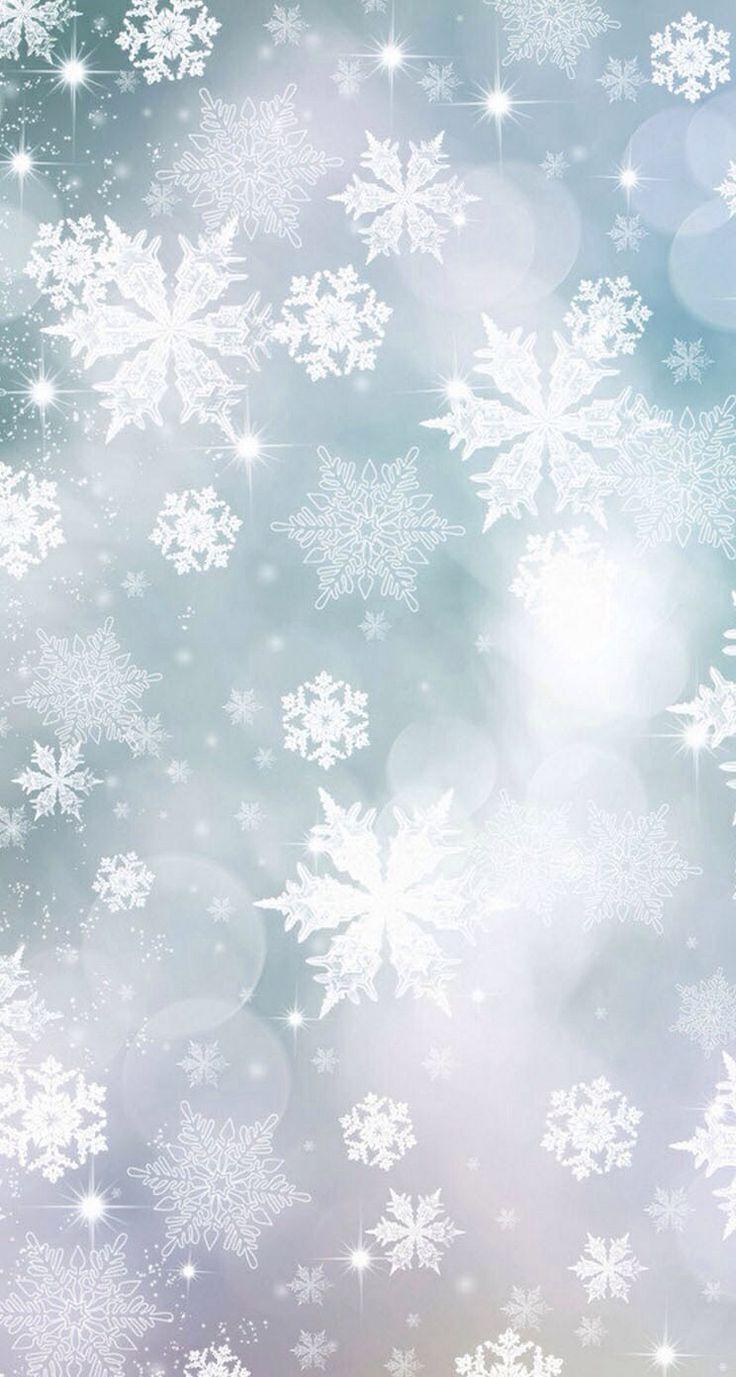 snowflake wallpaper iphone - photo #35