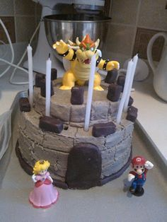 Best Bowser Birthday Images On Pinterest Birthday Party Ideas - Bowser birthday cake
