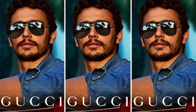 Актер Джеймс Франко снова снялся для Gucci