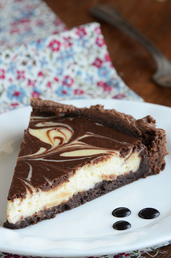 Brownie Cheesecake Torte~T~ I love this recipe. I use regular brownie mix and regular cream cheese which defeats the Cooking Light version which is the recipe given here. The lighter version is delicious as well and with a lot less calories.