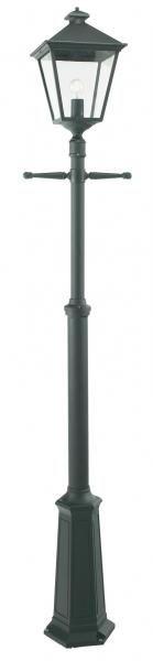 London 491 stolpe. Norlys utebelysning