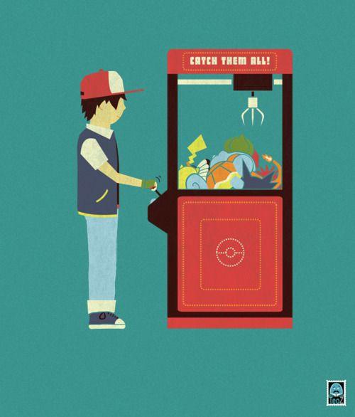 Claw Machine T-Shirt by Teo Zirinis #gaming