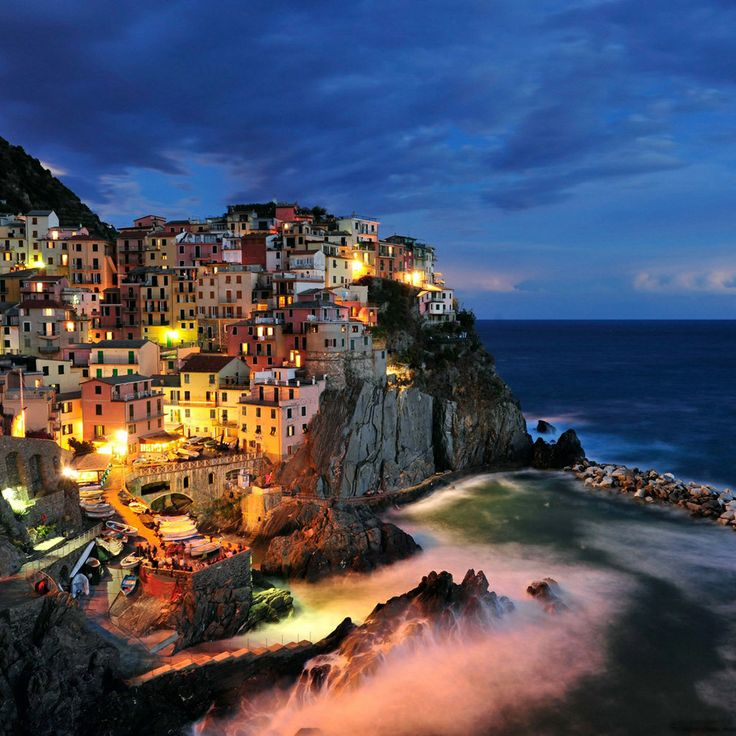 Cinque Terre, Italy -should be on your bucket list!