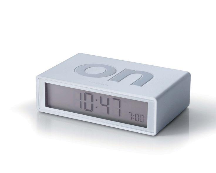 FLIP Alarm Clock (white)
