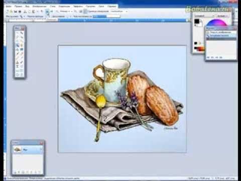 Маленький секретик по вырезанию картинки из белого фона