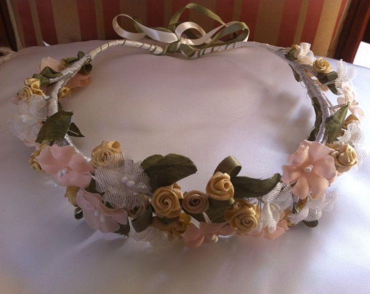 coronas de flores cabello niñas - Buscar con Google